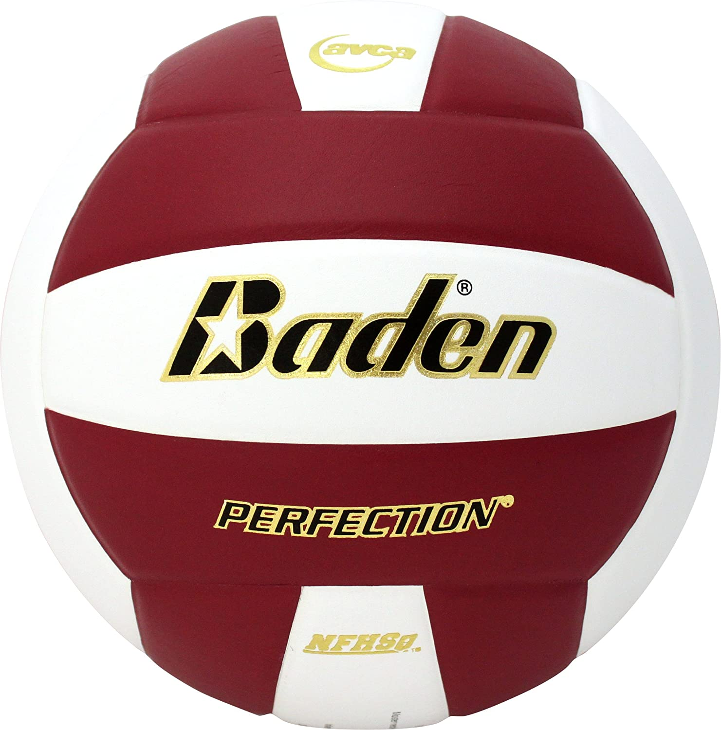 Baden Perfection - Pelota de Voleibol de Piel, Color Violeta y ...