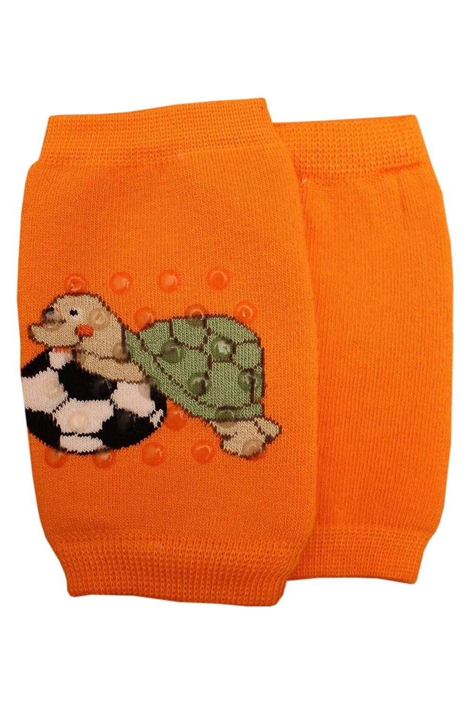Weri Spezials Unisexe Enfants ABS Protection pour les Genoux Tortue Orange