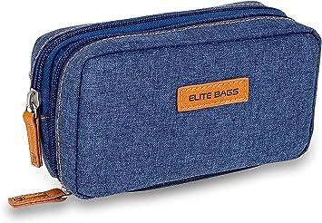 Bolsa estuche isotérmico para diabéticos | Diabetic´s | Elite Bags | Color: vaquero oscuro | Para plumas de insulina y glucómetros: Amazon.es: Salud y cuidado personal