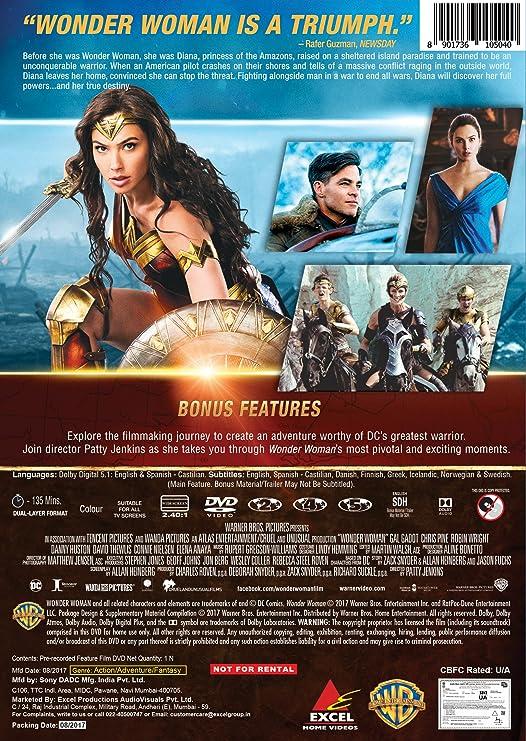Wonder Woman (English) telugu full movie hd 1080p
