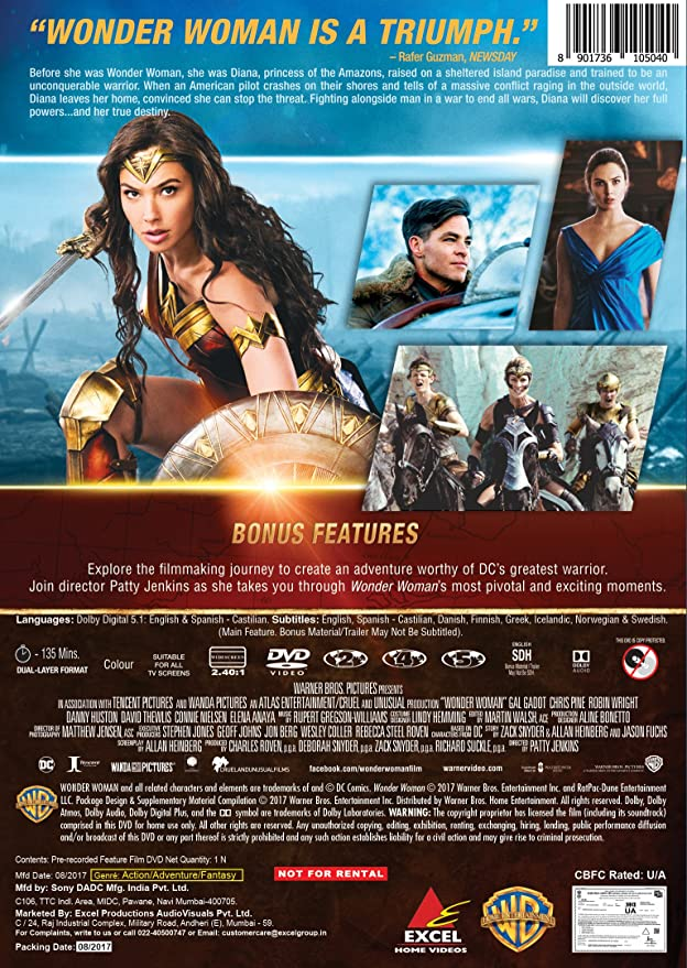 Wonder Woman (English) telugu full movie hd 1080p