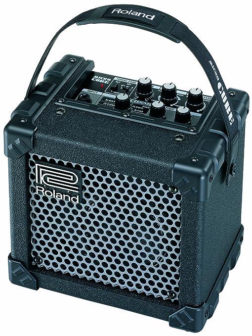 Roland Micro Cube – Amplificador de guitarra, color rojo