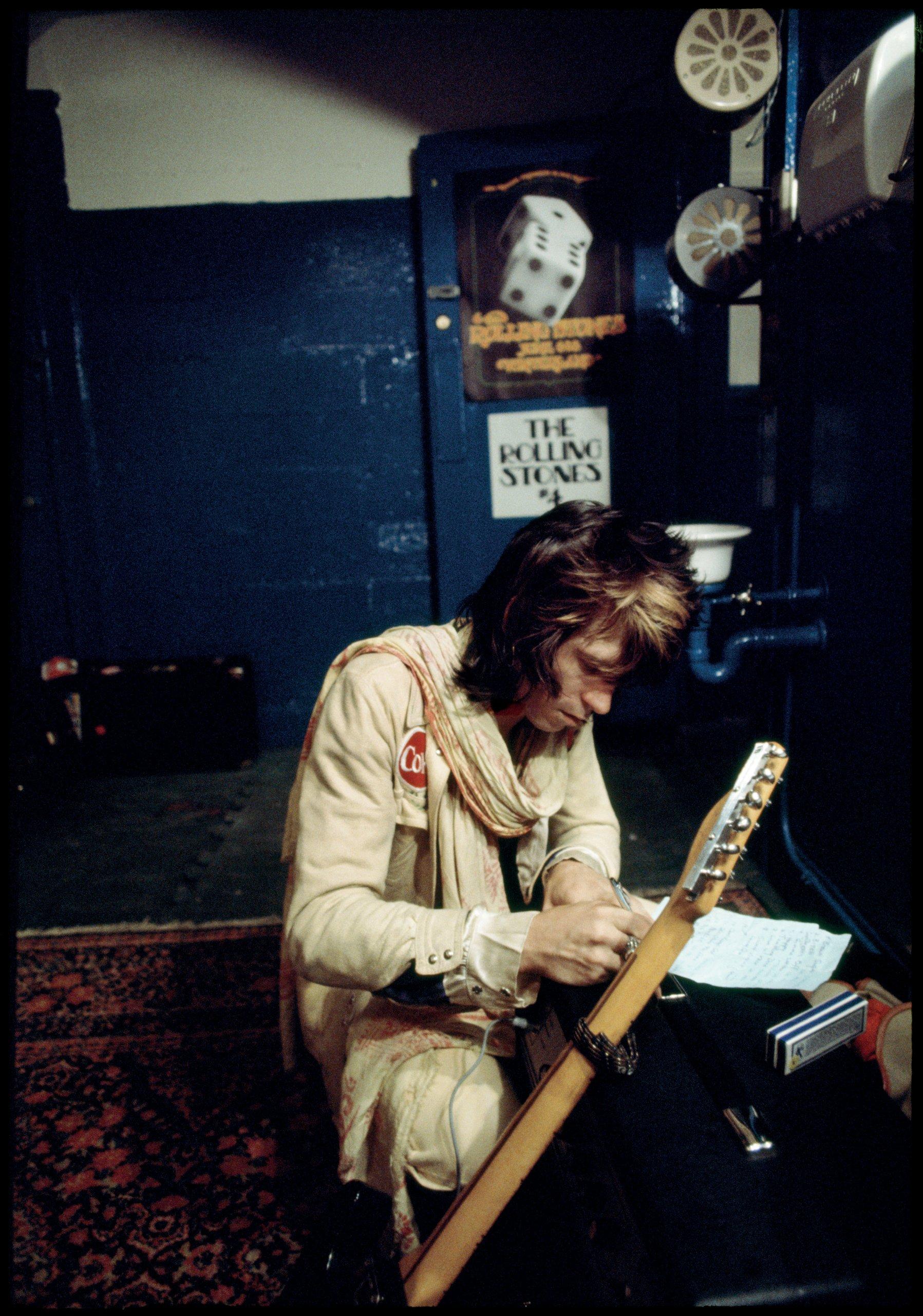 The Rolling Stones 1972: Jim Marshall, Keith Richards