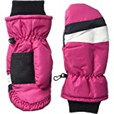 Amazon Essentials Boys' Kids Water-Resistant Snow Ski Mittens