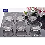 Hansa Crystal 12 cm Glass Bowl (Set of 6)