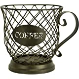 Boston Warehouse Mug Kup Keeper Coffee Pod Storage, 20 Capacity, Oiled Bronze