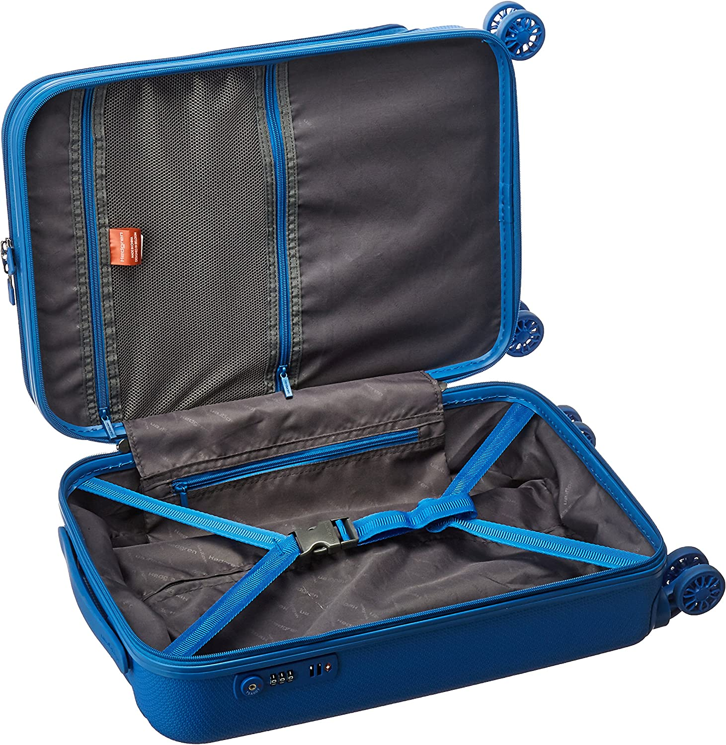 One Size Unisex Hedgren Boarding 20-Inch Hard Sided Carrying On Spinner
