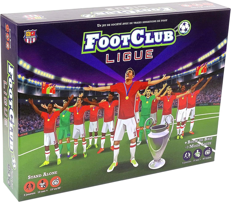 foot club ligue, jeu de société sport