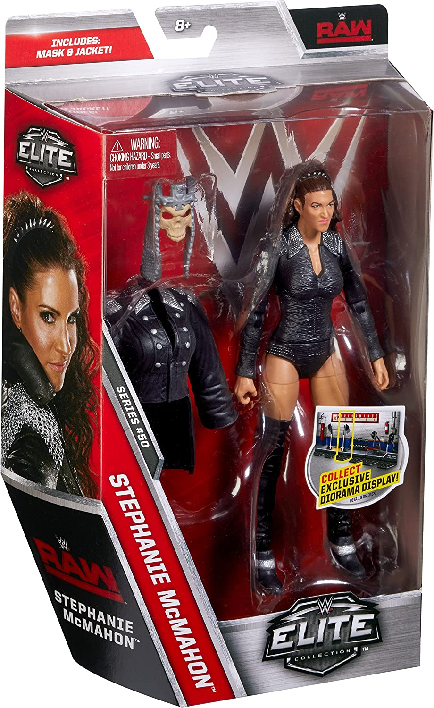 Wwe Serie Elite 50 Stephanie McMahon Womens GREZZA Wrestling Mattel
