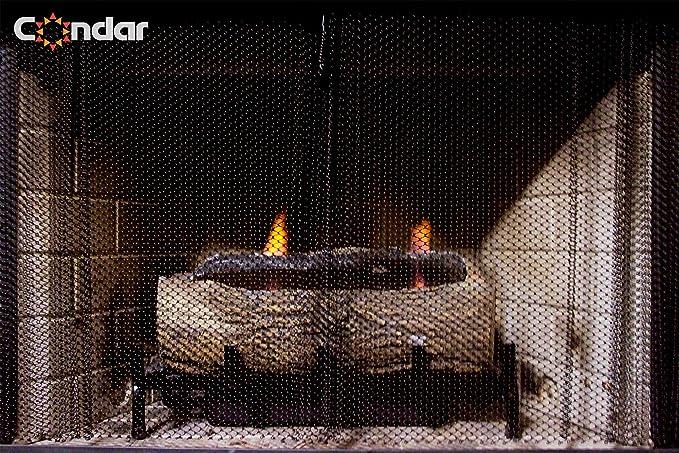 "Genuine Condar Fireplace Mesh Curtain 36/"" high x 48/"" wide"