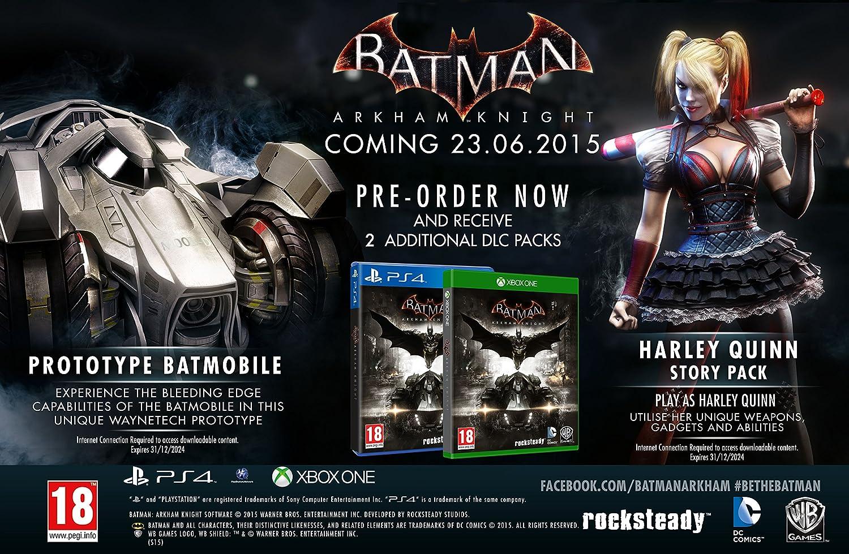 Batman: Arkham Knight: xbox one: Amazon.es: Videojuegos