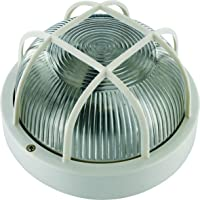 Smartwares BE100W - Aplique de pared redonda, luz
