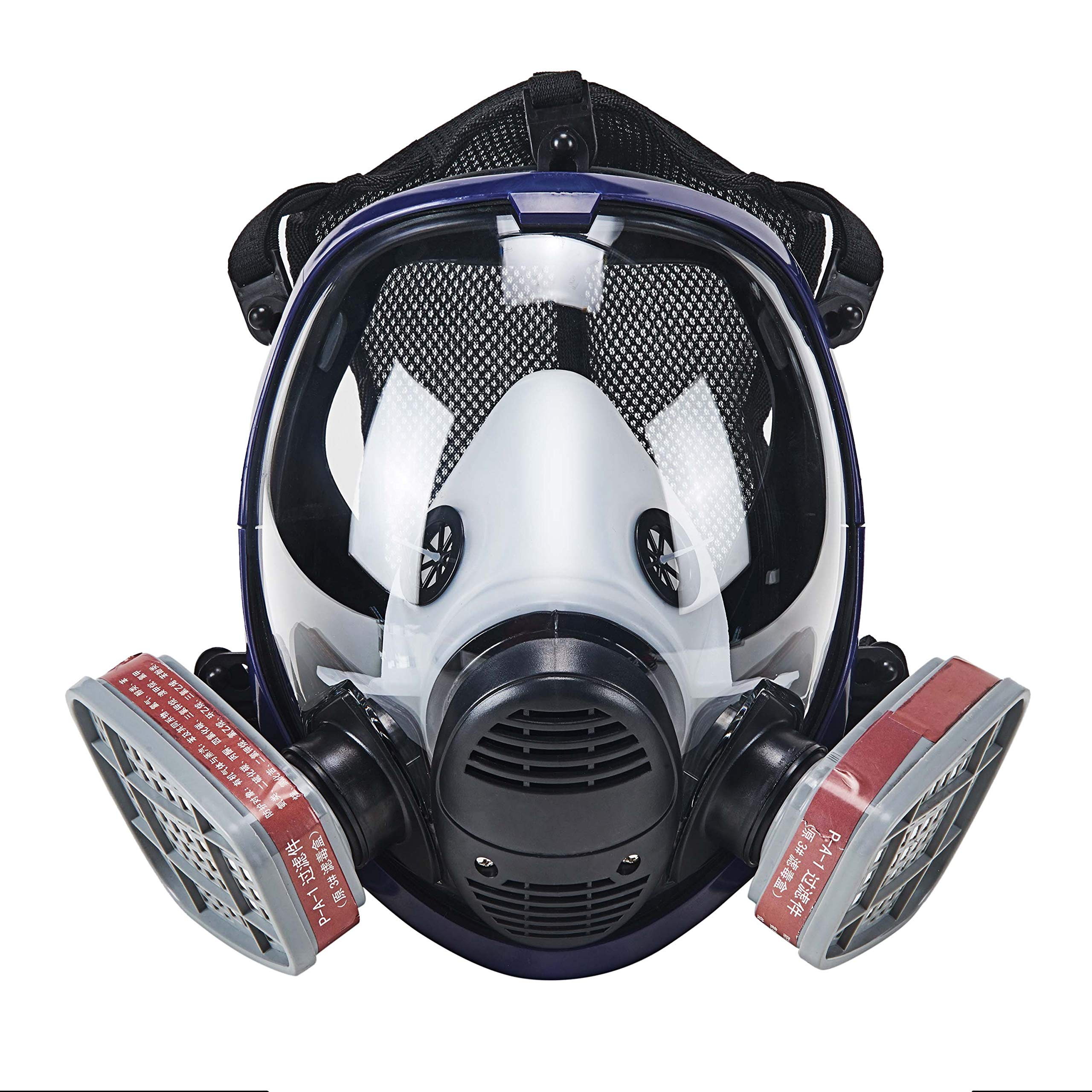 Holulo Full Face Respirator for Organic Vapor Industrial Grade Quality Respiratory Protection,Paint Spray Safety Mask (mask 33)