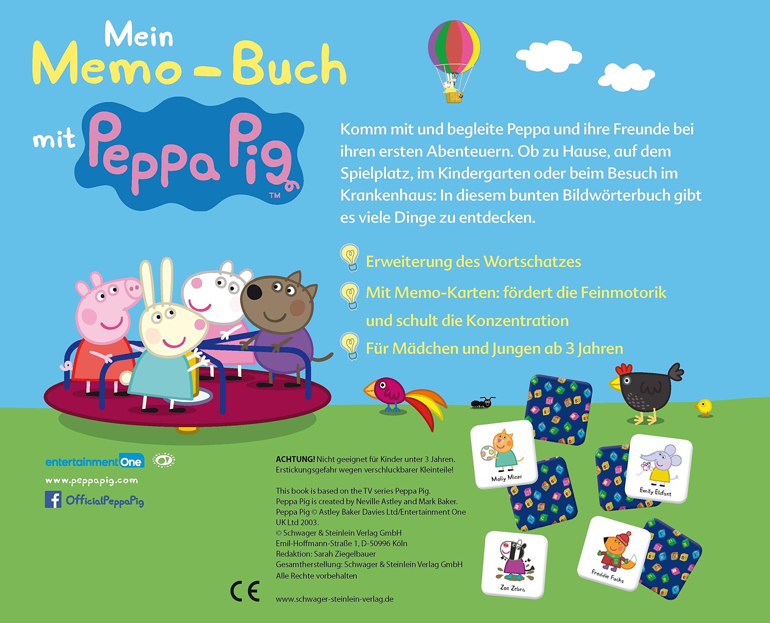 Mein Memo-Buch mit Peppa Pig: 9783849907549: Amazon.com: Books