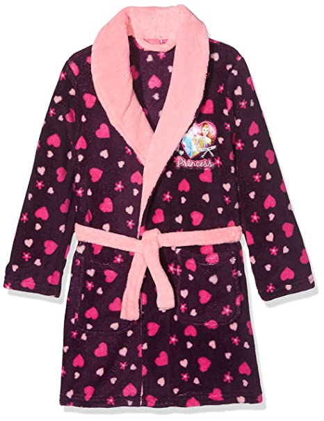 Sun City FR Princess Small Hearts, Kimono para Niñas, Morado (Purple 13-