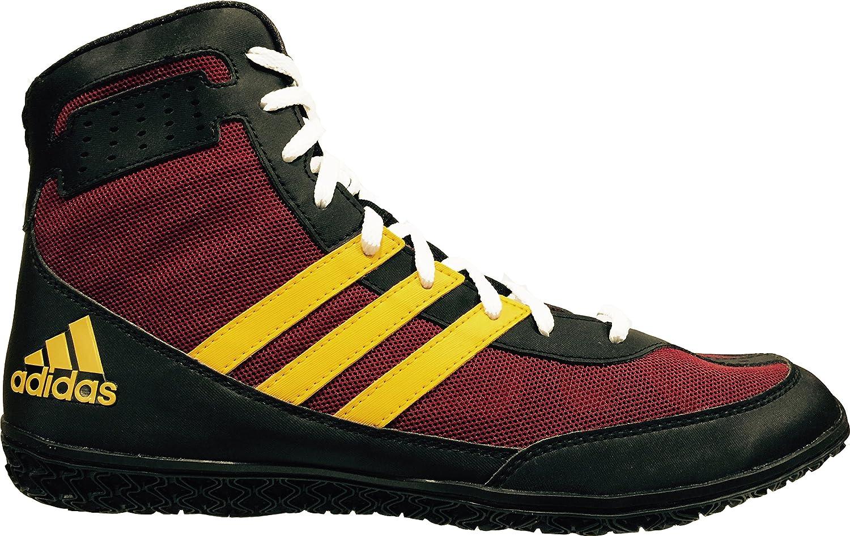 Adidas Performance Men\'s Mat Wizard.3 Wrestling Shoes Collegiate Burgundy/Black/Gold