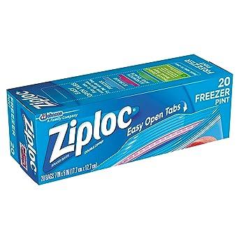 Ziploc bolsas para congelador, pinta, thomaswi, 1, 1: Amazon ...