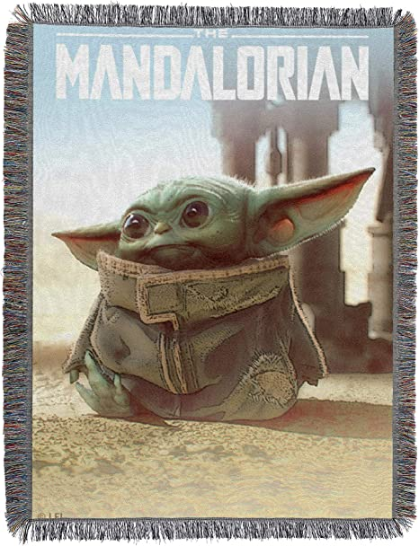 Details about  /New The Mandalorian Plush Throw Gift Blanket SOFT Movie Film Star Wars Baby Yoda