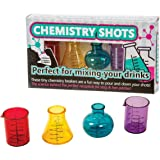 Funtime Gifts Plastic Glasses Chemistry Shots, Multi-Colour, 6.2 x 25 x 14 cm