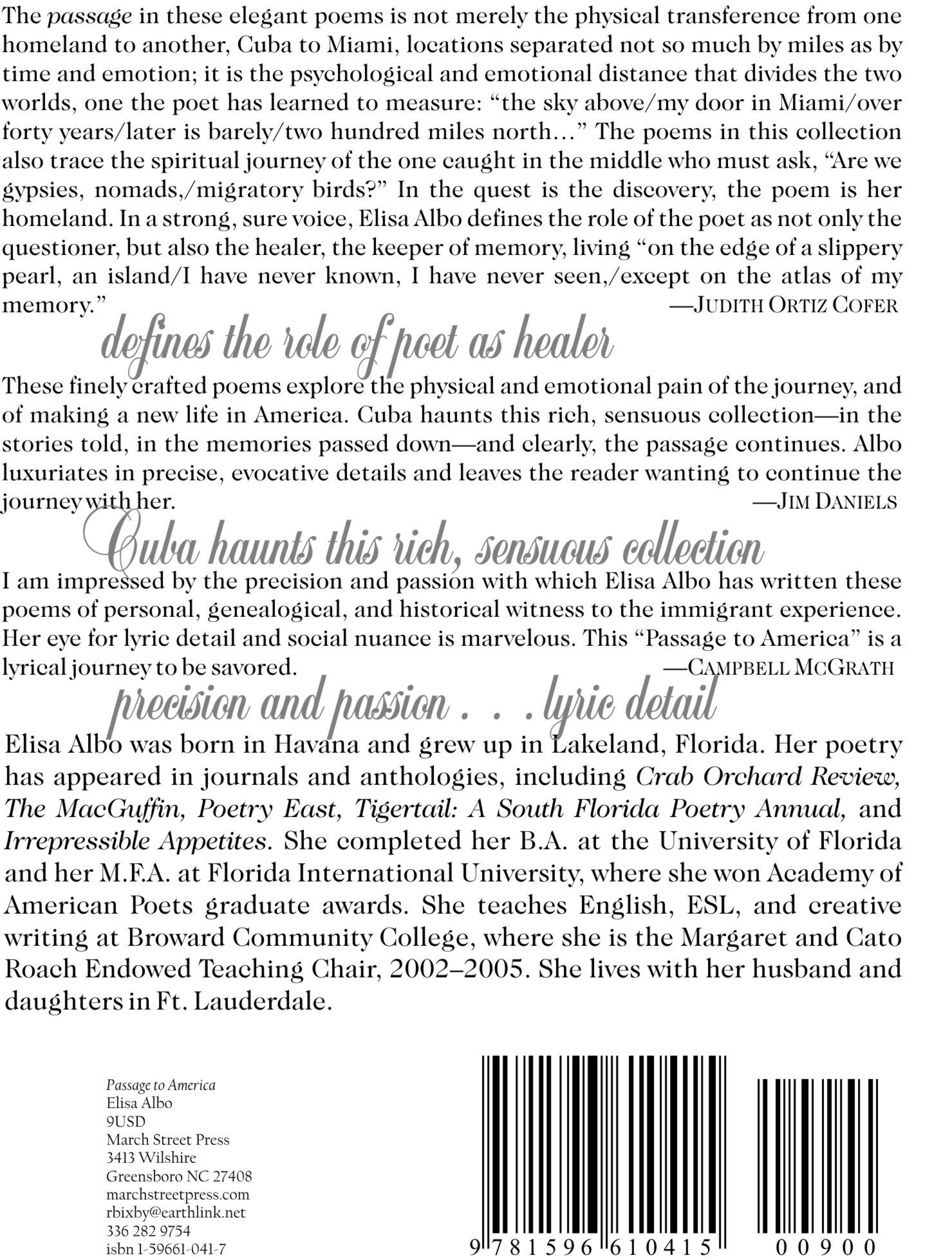 Passage to America: Elisa Albo, Robert Bixby: 9781596610415: Amazon