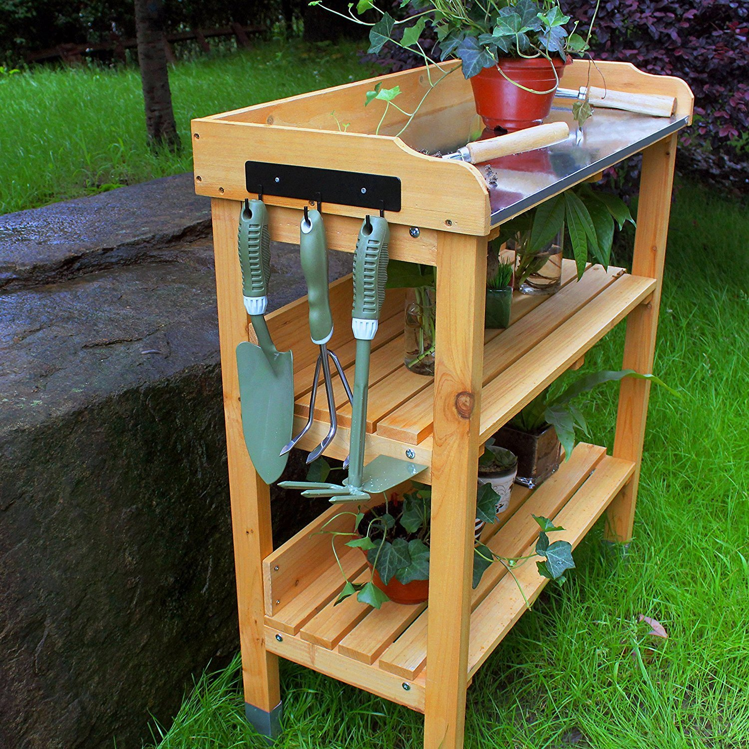 projects tables best garden corner potting benches bench woodworking sheds images and on pinterest talmaks
