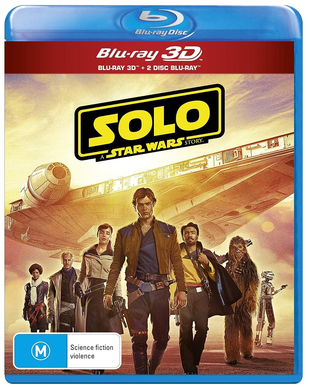 Solo: A Star Wars Story 3D (Blu-ray 3D/Blu-ray/Bonus Disc) Alden Ehrenreich Joonas Suotamo Woody Harrelson Emilia Clarke