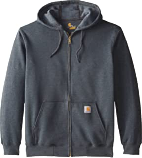 74254a51447a4a Carhartt Midweight Hooded Zip front  Amazon.co.uk  Business ...