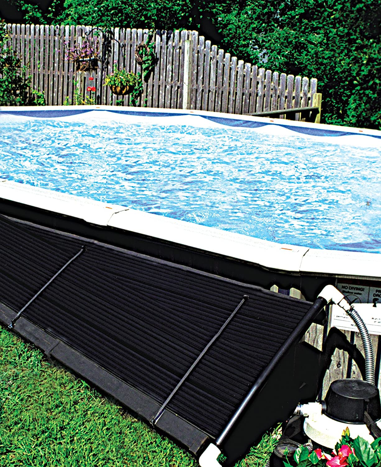 SunHeater S120U Universal Solar Pool Heater 2 by 20-Feet