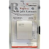 RADIO SHACK 43 161 WIRELESS PHONE JACK EXTENSION UNIT
