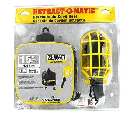 Electricord RETRACT O MATIC Retractable Cord Reel/Drop Light