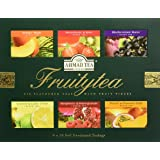 "English Teas Selection Pack ""Fruitytea"" - A Selection of Six Fruit Flavoured Teas, 6 x 10 Foil Enveloped Teabags - 1272"