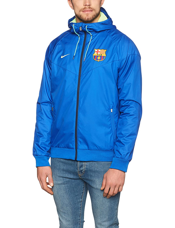 Nike Herren FCB M NSW Wr WVN AUT Jacket