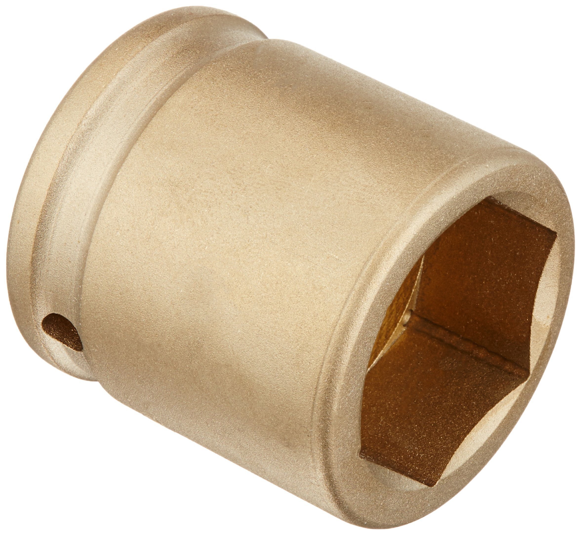 Ampco Safety Tools I-3/4D1-3/8 Socket, Standard Impact, Non-Sparking, Non-Magnetic, Corrosion Resistant, 3/4'' Drive, 1-3/8''
