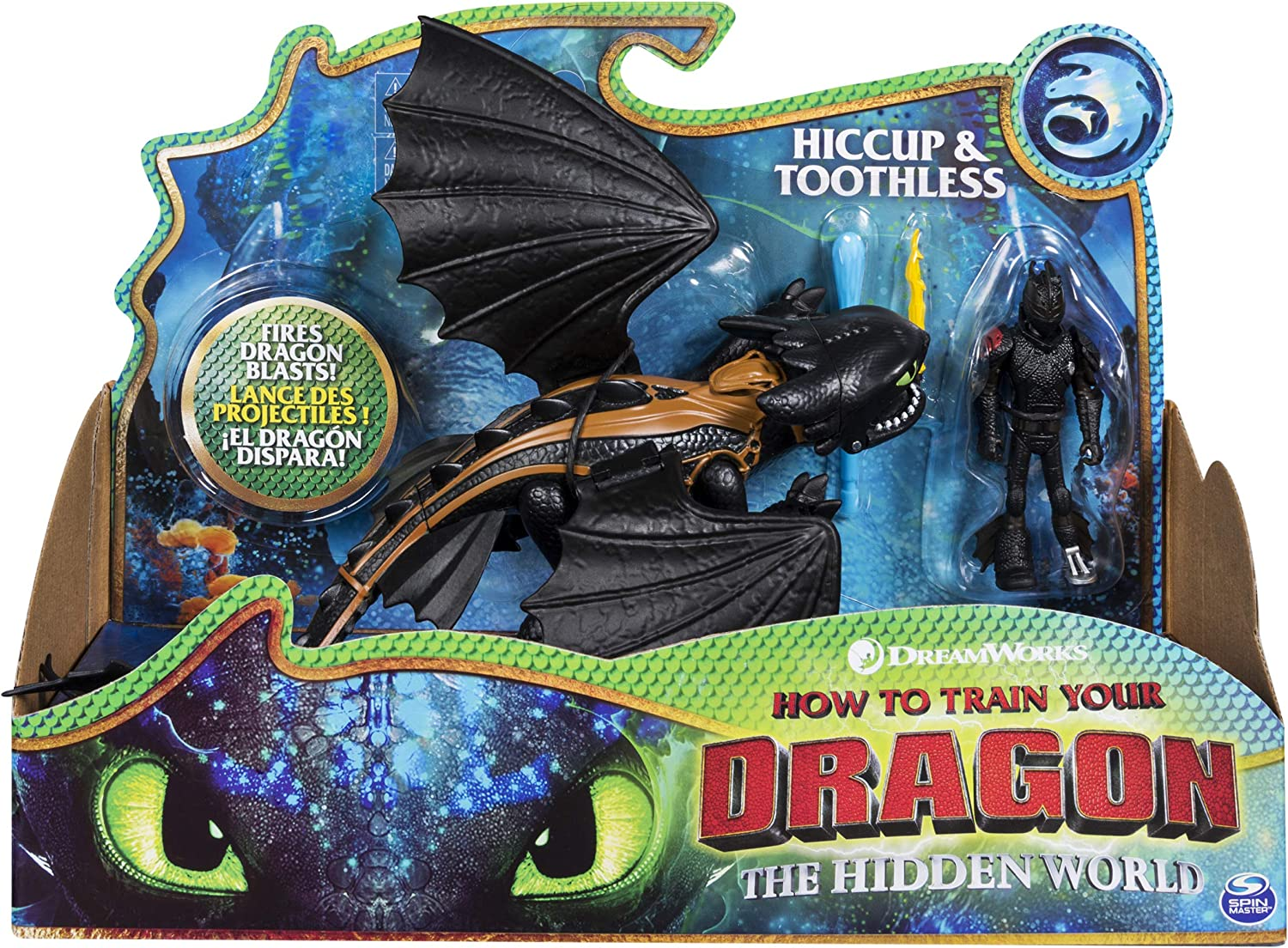 Dragons 6052275 Viking - Figuras de Hiccup sin dientes y colores mezclados , color/modelo surtido