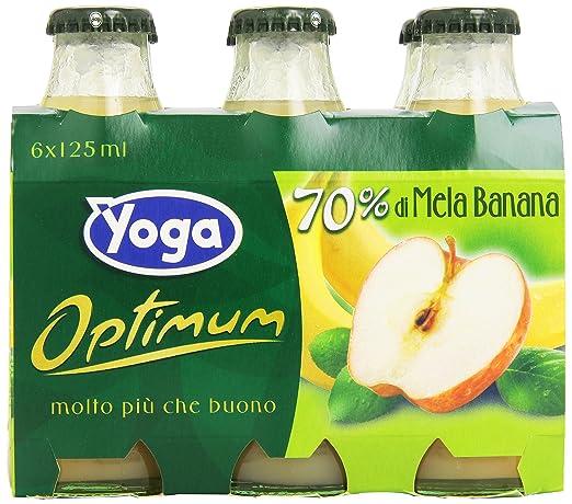 1 opinioni per Yoga- Bevanda analcolica, a base di mela e banana, con Vitamina C, senza