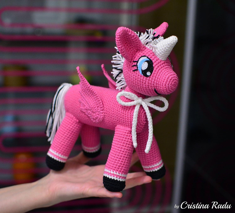 My little unicorn Pattern Horse from Zizidora ... | 1359x1500