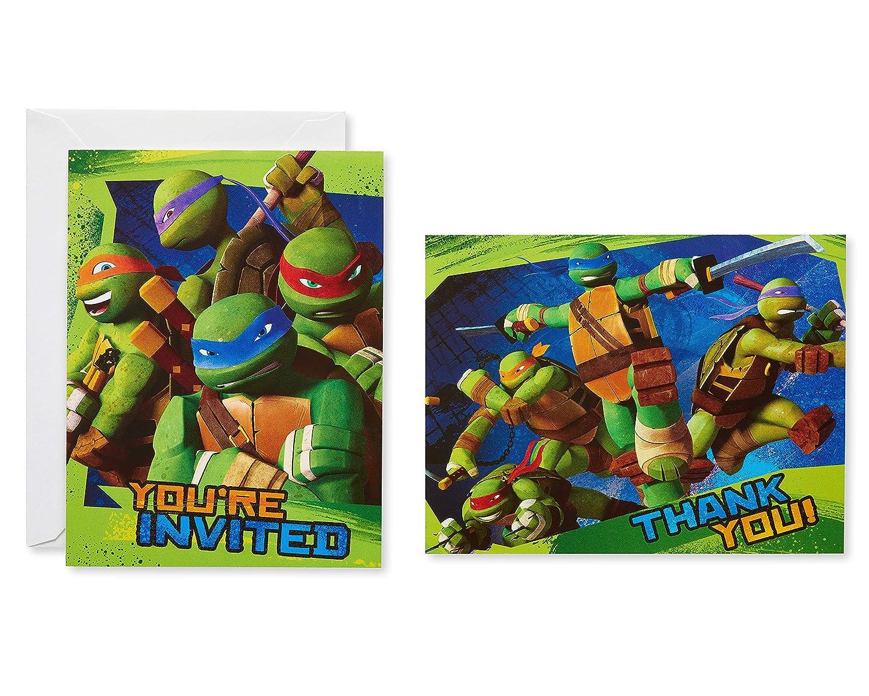 Amazon Com American Greetings Teenage Mutant Ninja Turtles Party