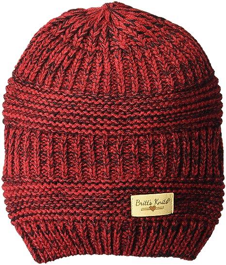 Britt s Knits Women s Acrylic Beanie Hat 043b2b9bf75