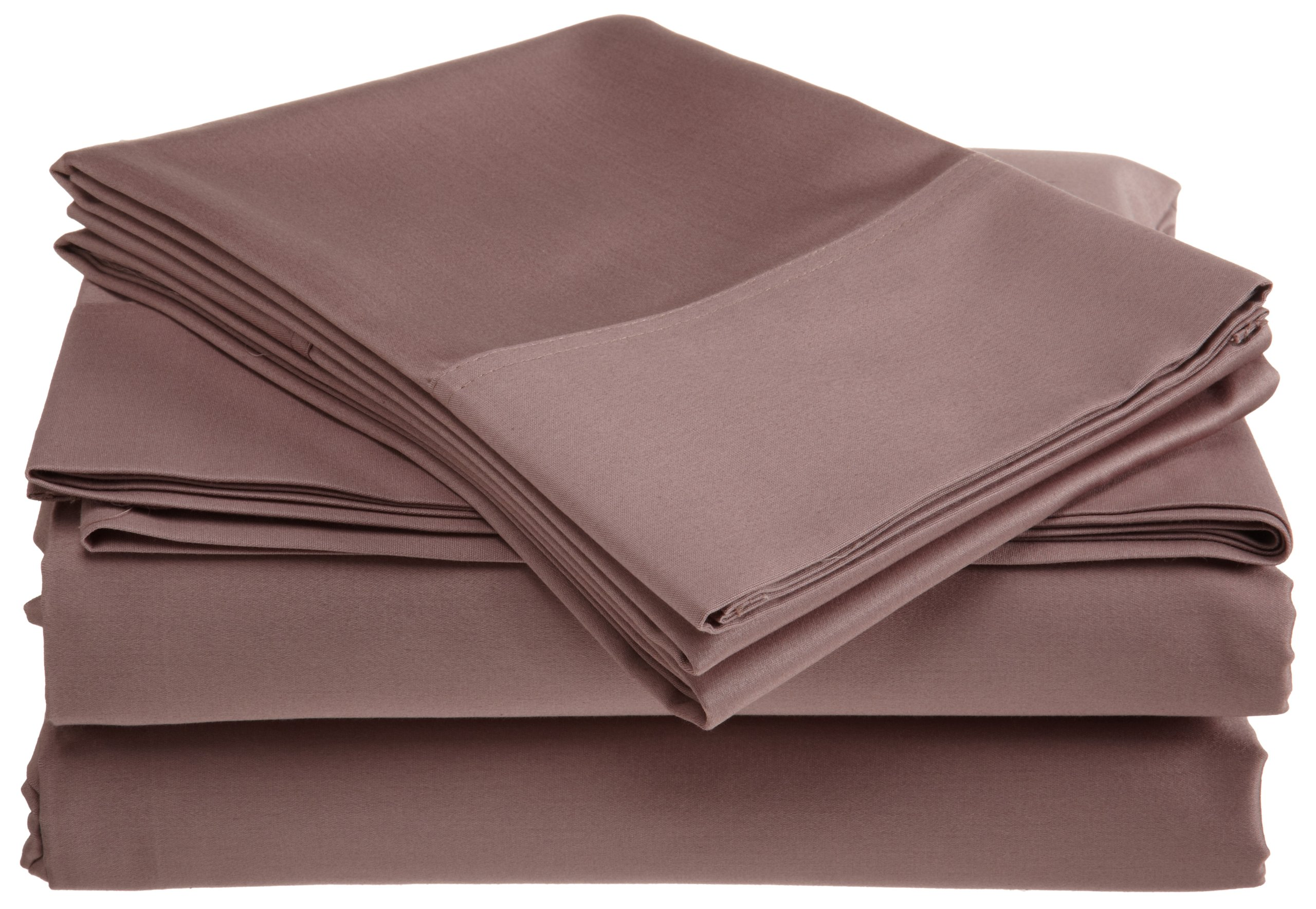 Belle Epoque 500 Thread Count Supima Cotton Sheet Set, Wood Rose, Cal-King