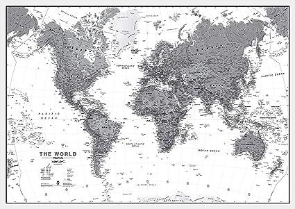 Amazon.com : Maps International Large Political World Wall ... on capitals of the world, large blank world map, large map time, rocket of the world, large detailed world map, large map america, large framed world map, large world map poster, large map mexico, view of the world, large map usa, overview of the world, mappa mundi, large world maps with continents, large world maps printable, palace of the world, topographic map, large flat world map, large map united states, large old world map, hero of the world, large world map countries, thematic map,