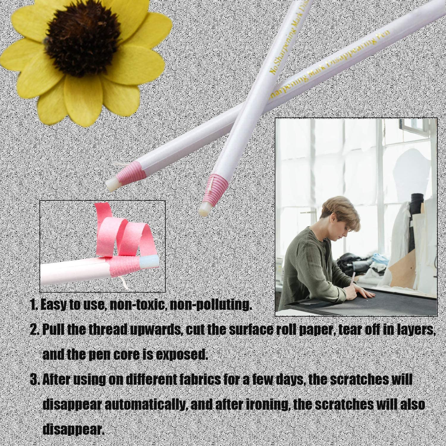 Include 9 Threader 2 Metal Drawstring Threader 2 Metal Tweezers and 2 Sewing Pen Winorda 19 Pieces Sewing Tools Kit 2 Plastic Drawstring threaders2 Sewing Loop Turner