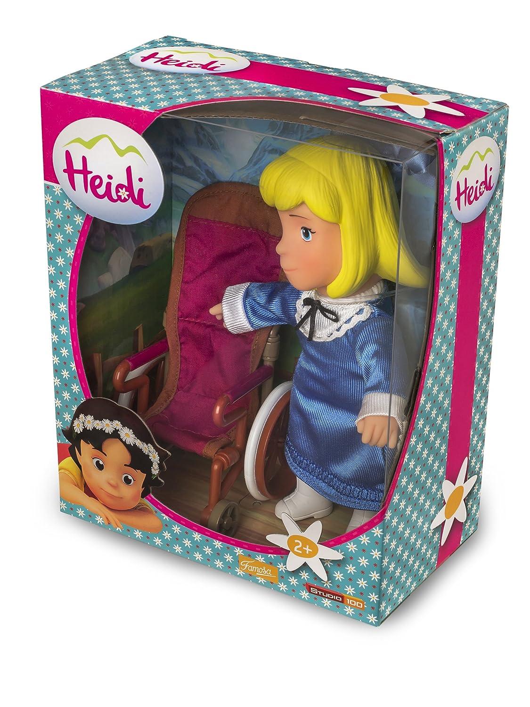 Studio 100 700012540 - Heidi - Puppen-Set - Clara mit Rollstuhl, 2 ...
