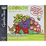 GroBox 25155 Mr Fothergill's Childrens Flower Garden - Green