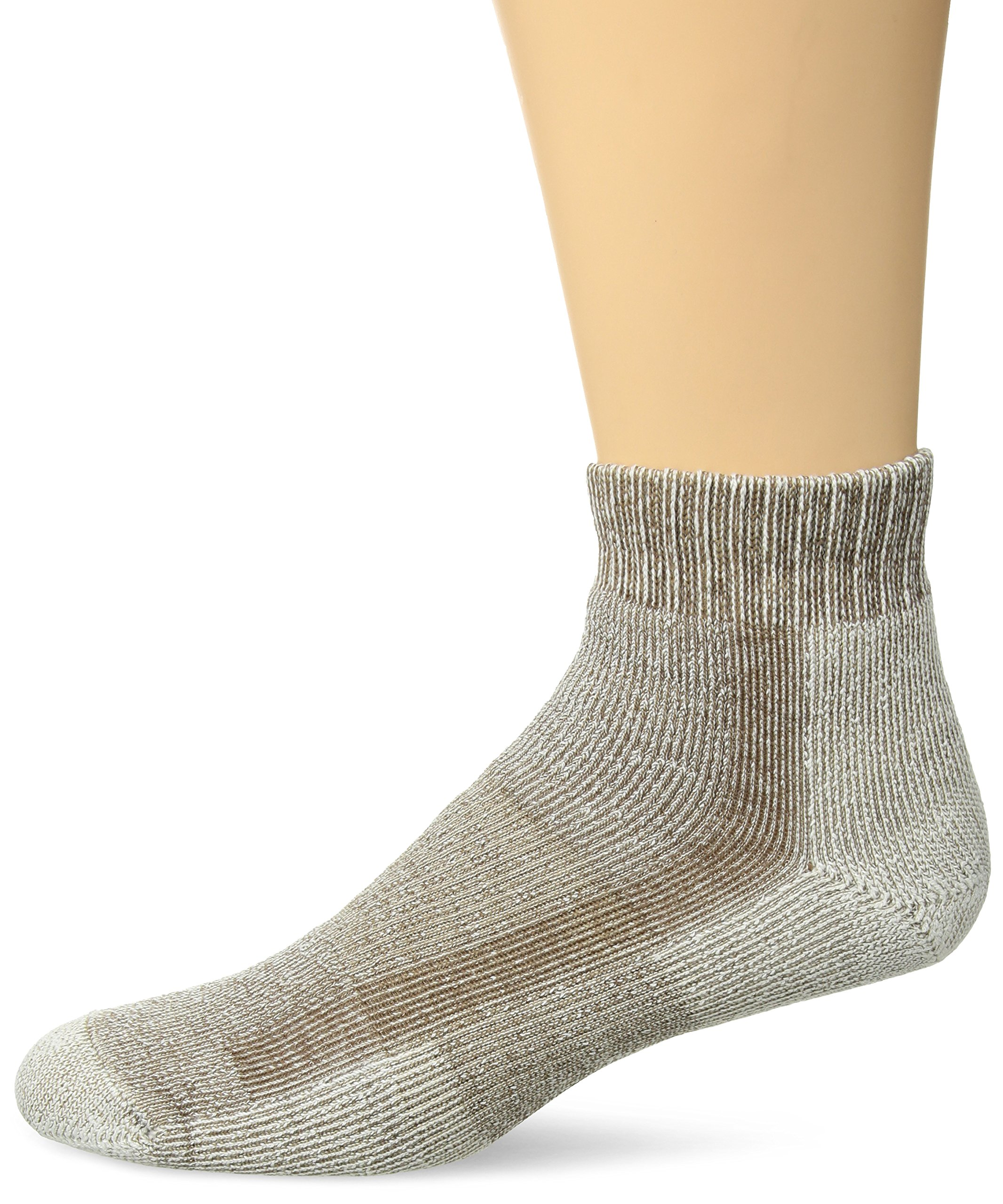 Thorlos Unisex LTHMX Light Hiking Thick Padded Ankle Sock, Walnut, Medium by thorlos