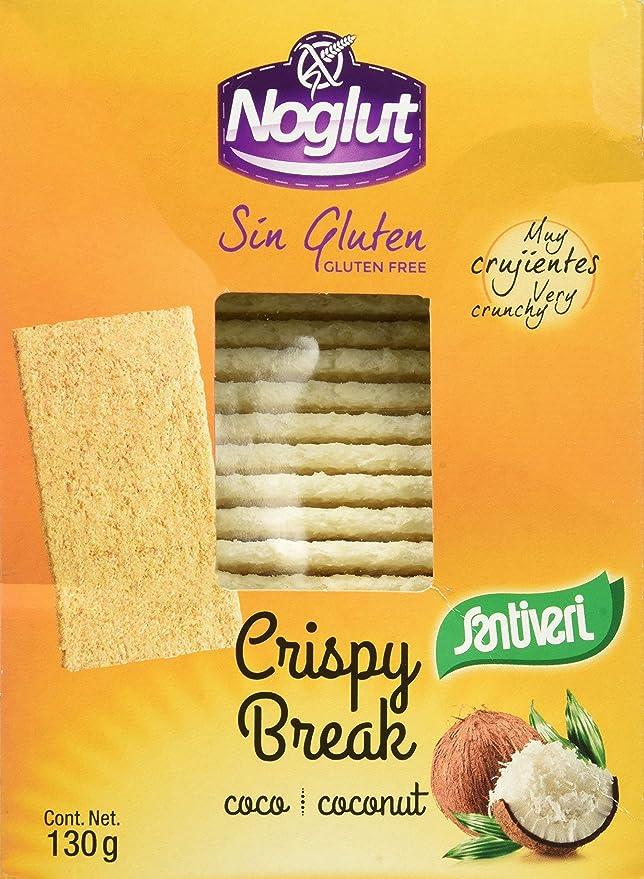 Santiveri Noglut Crispy Break Coco 130G - 500 g: Amazon.es ...