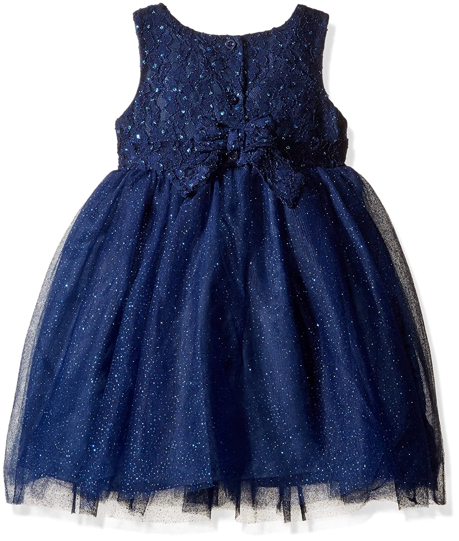 d676a6251 Amazon.com  Blueberi Boulevard Little Girls  Ls Dress With cardigan ...