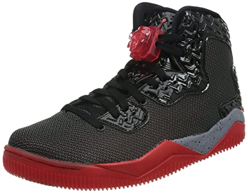 premium selection 1134d 400d1 Nike Jordan Kids Air Jordan Spike Forty Bg Black Fire Red Cement Grey  Basketball