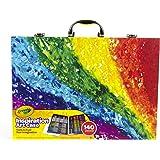 Crayola 绘儿乐 创意展现艺术珍藏礼盒 儿童绘画工具箱 140件装(版本随机发货)