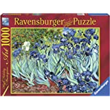 Ravensburger - Puzzles 1000 piezas, diseño Van Gogh: El Iris (15613 9)
