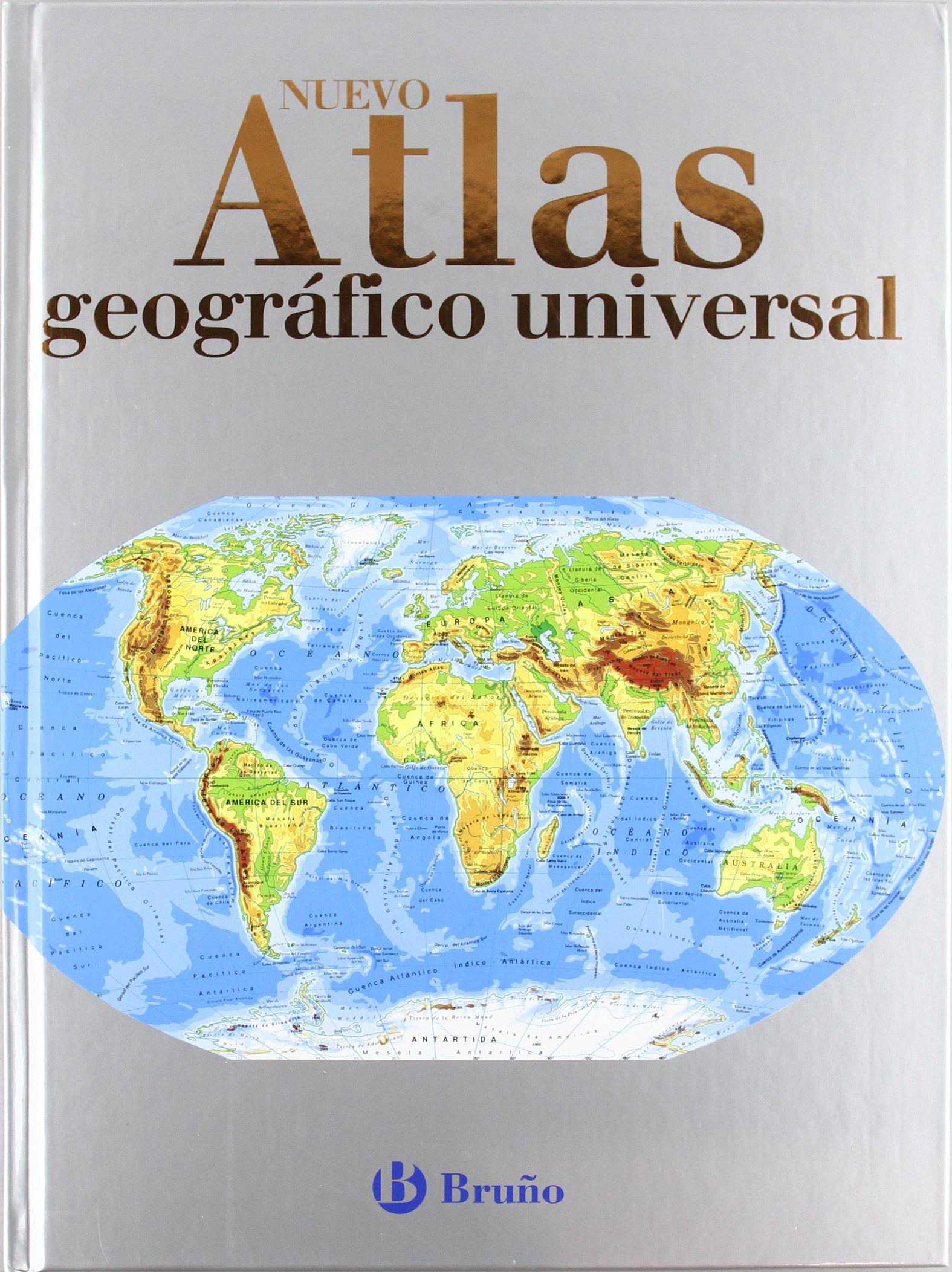Nuevo Atlas Geográfico Universal Castellano - A Partir De 10 Años - Atlas Escolares: Amazon.es: Varios Autores: Libros